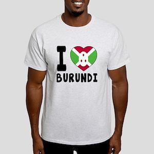 I Love Burundi Light T-Shirt