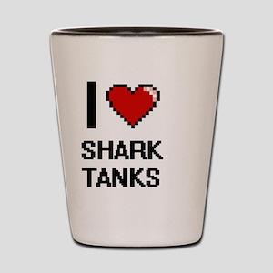 I love Shark Tanks digital design Shot Glass