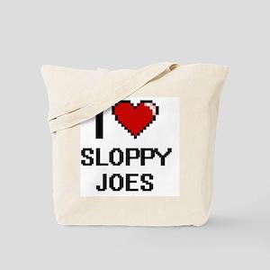 I love Sloppy Joes digital design Tote Bag
