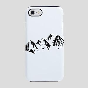 Mountains Landscape Drawing iPhone 8/7 Tough Case