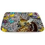 Bambina Fawn Butterflies Bathmat
