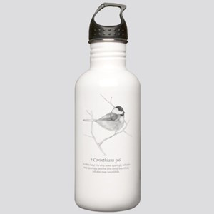 2 Corinthians 9:6 Chic Stainless Water Bottle 1.0L