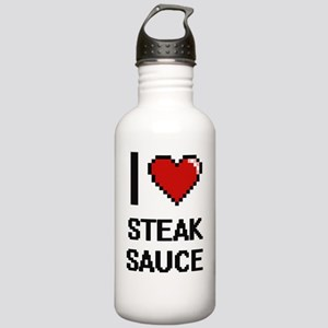 I love Steak Sauce dig Stainless Water Bottle 1.0L