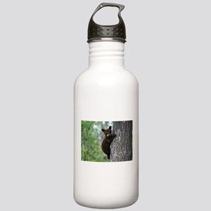 Bear Cub Climbing a Tr Stainless Water Bottle 1.0L