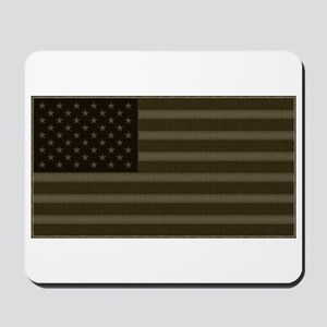 US Flag OD Patch Mousepad