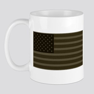 US Flag OD Patch Mug