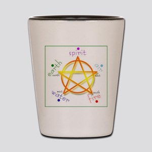 Pentacle Shot Glass