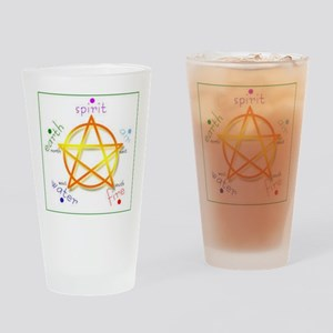 Pentacle Drinking Glass