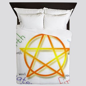 Pentacle Queen Duvet