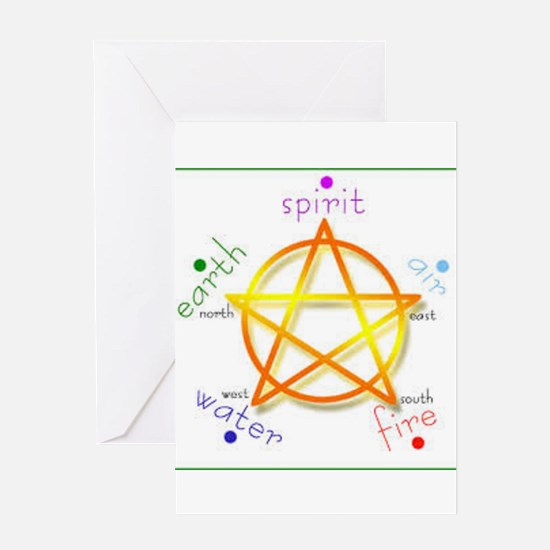 Pentacle Greeting Cards