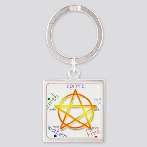 Pentacle Keychains