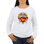 Bou Family Crest Women's Long Sleeve T-Shirt