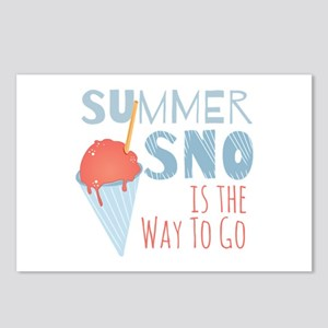 Summer Sno Postcards (Package of 8)