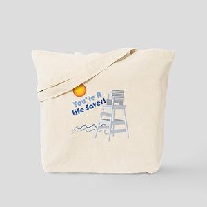 A Life Saver Tote Bag
