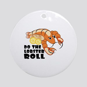 Lobster Roll Round Ornament