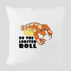Lobster Roll Woven Throw Pillow