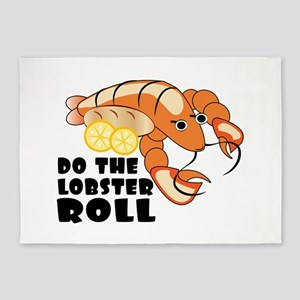 Lobster Roll 5'x7'Area Rug