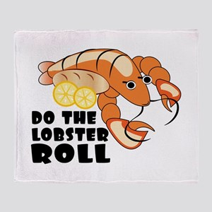 Lobster Roll Throw Blanket