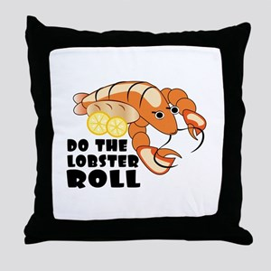 Lobster Roll Throw Pillow