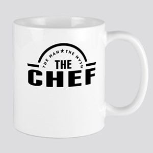 The Man The Myth The Chef Mugs