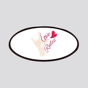 Love Rules Patch
