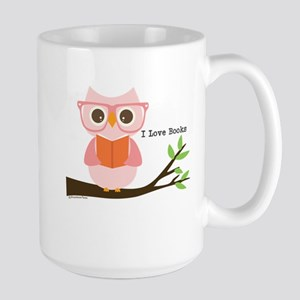 Cute Owl Reading Mugs