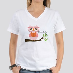 Cute Owl Reading T-Shirt