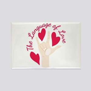 Language Of Love Magnets