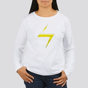Ms. Marvel Bolt Women's Long Sleeve T-Shirt