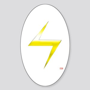 Ms. Marvel Bolt Sticker (Oval)