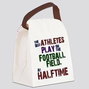 The Best Athletes Canvas Lunch Bag