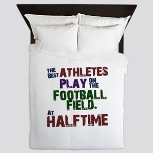 The Best Athletes Queen Duvet