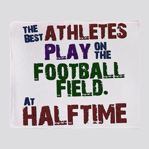 The Best Athletes Throw Blanket