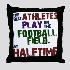 The Best Athletes Throw Pillow