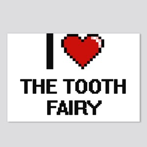 I love The Tooth Fairy di Postcards (Package of 8)