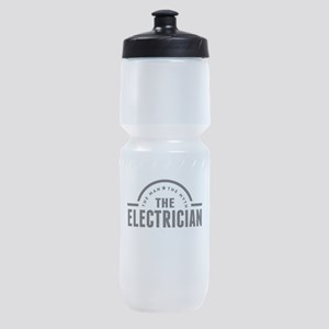 The Man The Myth The Electrician Sports Bottle