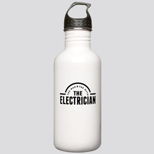 The Man The Myth The Electrician Water Bottle