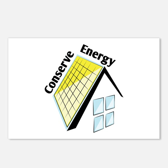 Conserve Energy Postcards (Package of 8)