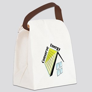 Conserve Energy Canvas Lunch Bag
