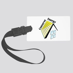 Conserve Energy Luggage Tag