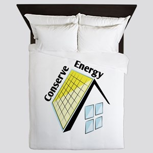 Conserve Energy Queen Duvet