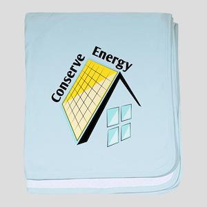 Conserve Energy baby blanket