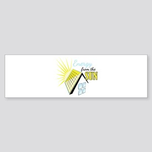 Energy From Sun Bumper Sticker