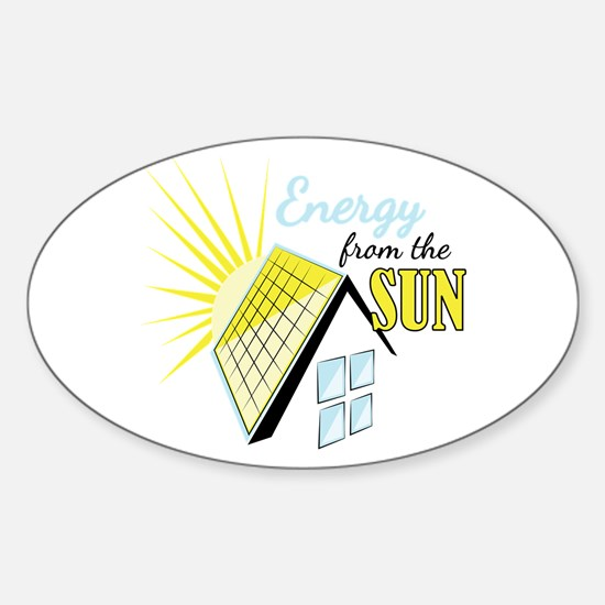 Energy From Sun Decal