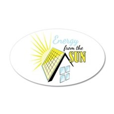 Energy From Sun Wall Decal