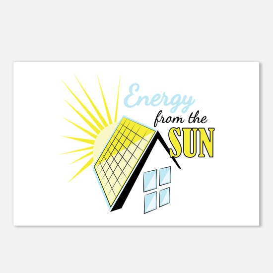 Energy From Sun Postcards (Package of 8)