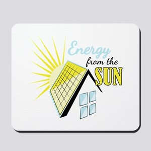 Energy From Sun Mousepad