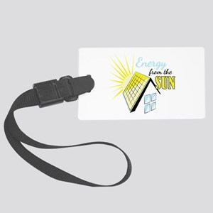 Energy From Sun Luggage Tag