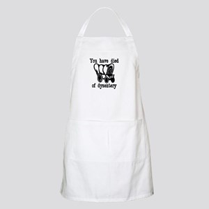 You have died of dysentery BBQ Apron