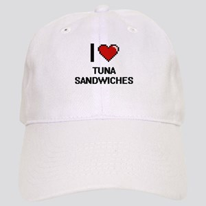 I love Tuna Sandwiches digital design Cap